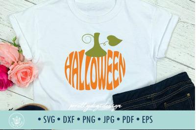 Halloween Pumpkin SVG cut file