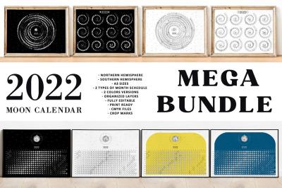 Moon Calendar 2022 MEGA BUNDLE