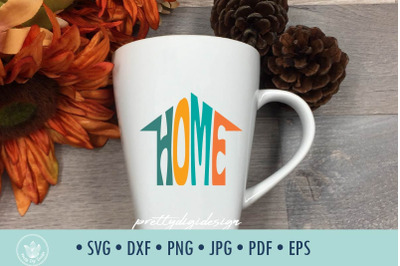 Home SVG cut file