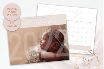 PSD Photo Calendar Template 2022 #3