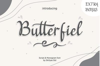 Butterfiel - Script & Decorative Font