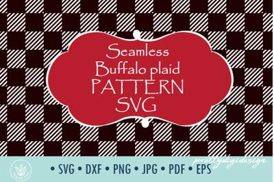 Buffalo Plaid Pattern SVG cut file