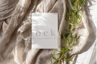 Wedding Mockup,Presentation Card,Photoshop Mockup