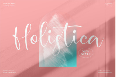 Holistica  Beautiful Script Font