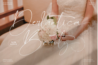 Derlantica Beauty  Stylish Signature Font