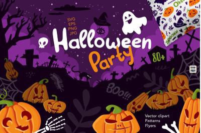 Halloween Party vector clipart