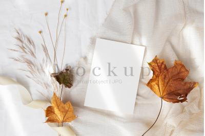 Invitation Card,5x7 Card Mockup,Greeting Card