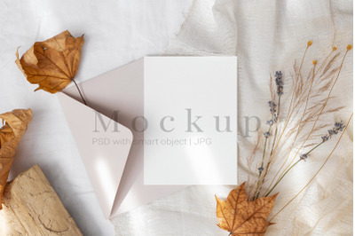 5x7 Card Mockup,Greeting Card,Invitation Mockup