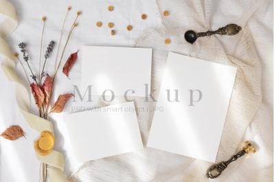 Wedding Mockup,Greeting Card,Card Mockup