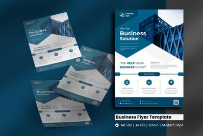 Business Hexa Flyer Template