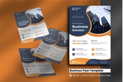 Business Liquid Flyer Template