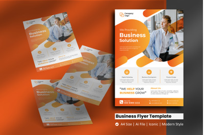 Business Agency Sphere Flyer Template