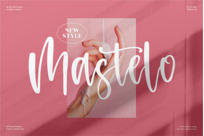 Mastelo - Beautiful Handwritten Font