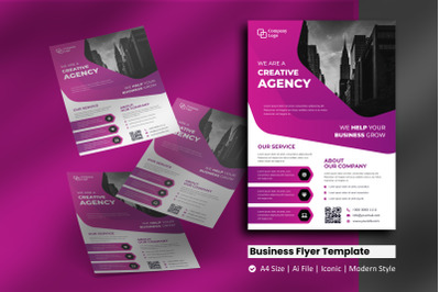 Service Business Flyer Template