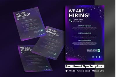 Scientist Recruitment Flyer Template