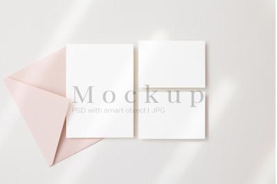 5x7 Card Mockup,5x3.5 Card Mockup,Smart Object Mockup