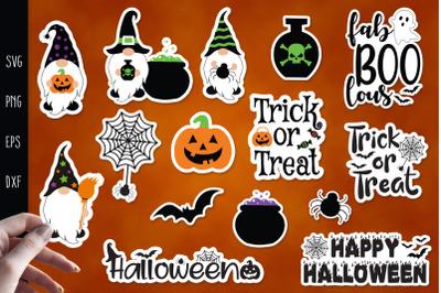 Halloween Sticker, Printable Stickers for Cricut, Halloween Svg