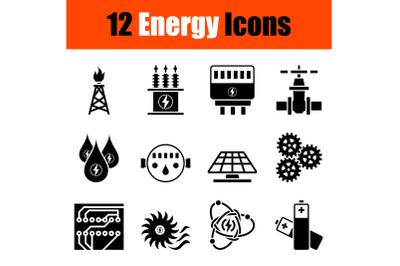 Energy Icon Set