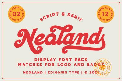 Neoland - Display font