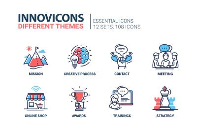 Business & Education Icons Super Set