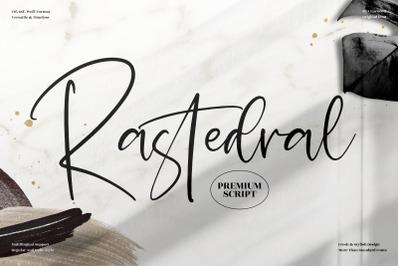 Rastedral  Beautiful Handwritten Font