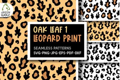 Fall leopard print svg Fall patterns Fall svg Autumn pattern svg