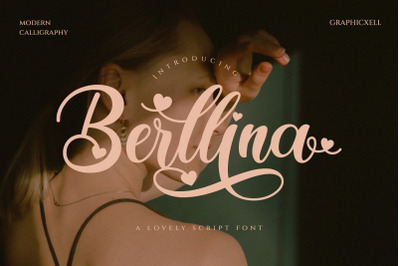 Berllina - Elegant Script Font