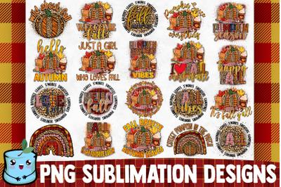 Fall Sublimation Bundle