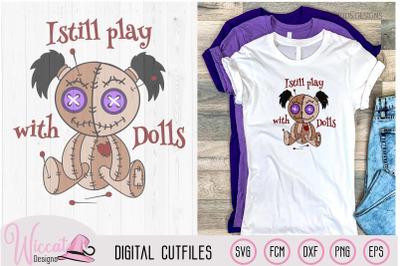 Girl Voodoo Doll svg,