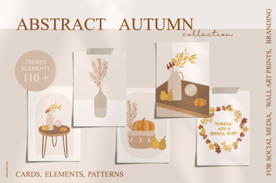 Abstract Autumn collection 110+