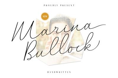 Marina Bullock - Signature Script
