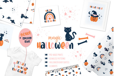 Magic Halloween Baby collection