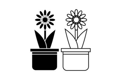 Flowers Bundle Solid,Line 636