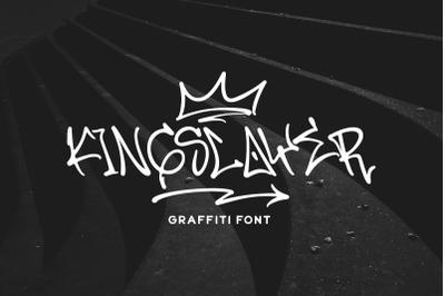 Kingslayer - Graffiti Font
