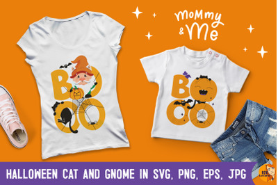 Boo day. Halloween kids. T-shirt designs