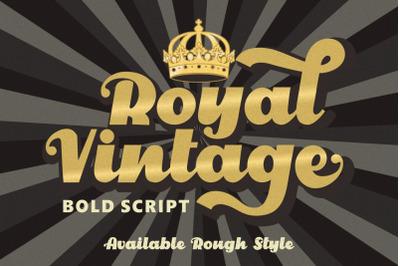 Royal Vintage - Bold Retro Font