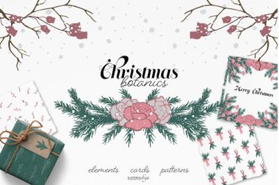 Christmas botanical collection