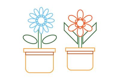 Flowers Bundle ColorLine 690