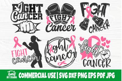 Fight Cancer SVG Bundle, Breast Cancer Svg