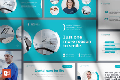 Dental Clinic PowerPoint Presentation Template