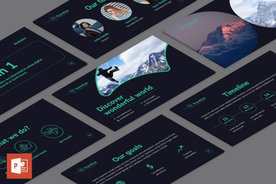 Tours and Travels PowerPoint Presentation Template