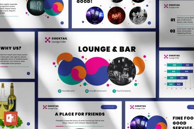 Lounge Bar PowerPoint Presentation Template