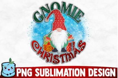Gnomie Christmas Sublimation Design