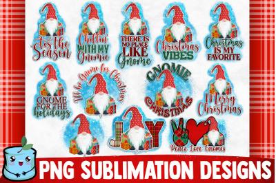 Christmas Gnomes Sublimation Bundle