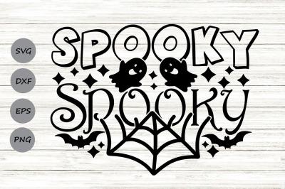 Spooky Svg, Halloween Svg, Ghost Svg, Spooky Halloween Svg, Ghoul Svg.