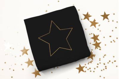 Basic Star Linework | Embroidery