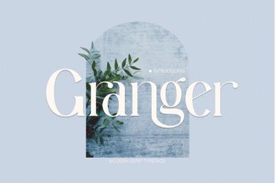 Granger Ligature Serif Typeface