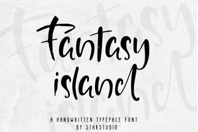 Fantasy Island font