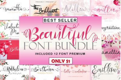 Beautiful  Font Bundle