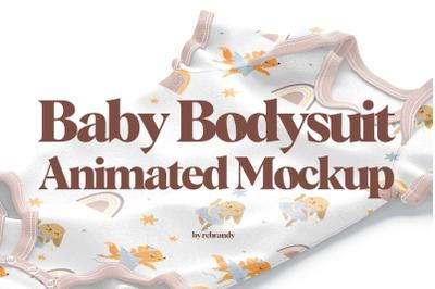 Baby Bodysuit Animated Mockup